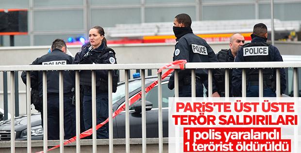 Paris'te iki terör saldırısı birden yaşandı
