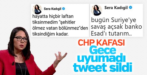 Sera Kadıgil hakaret tweet'lerini sildi