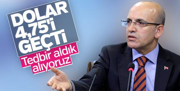 Mehmet Şimşek doların yükselişini değerlendirdi