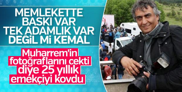 Kemal Kılıçdaroğlu 25 yıllık fotoğrafçıyı CHP'den kovdu