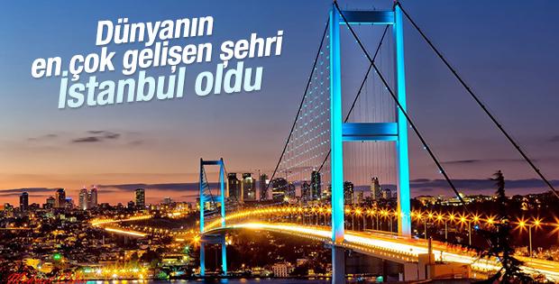 İstanbul dünyada en çok gelişen şehir oldu