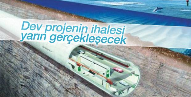 Büyük İstanbul Tüneli'nin ihalesi yarın gerçekleşecek