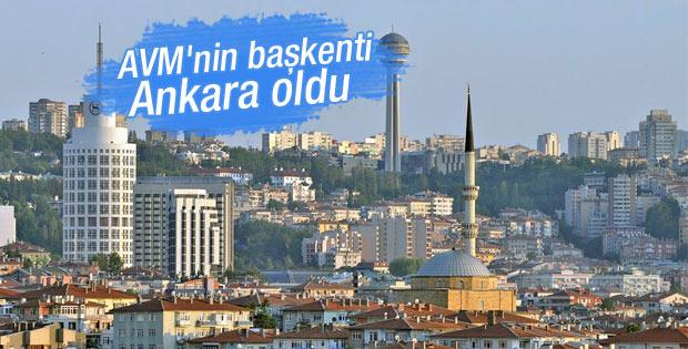 Ankara AVM'nin başkenti oldu