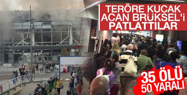 Brüksel Zaventem havaalanında patlama