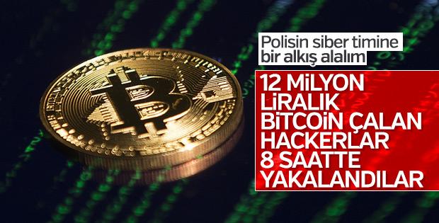İstanbul'daki Bitcoin hırsızları yakalandı