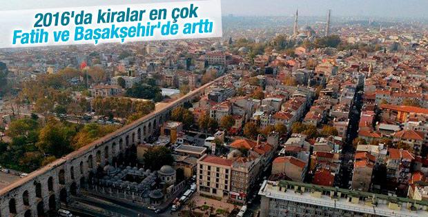 İstanbul'da kiralar arttı