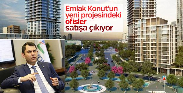Emlak Konut'un yeni projesindeki ofisler satışa çıkıyor