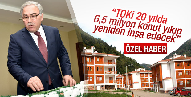 Turan TOKİ'nin kentsel dönüşüm sürecini değerlendirdi