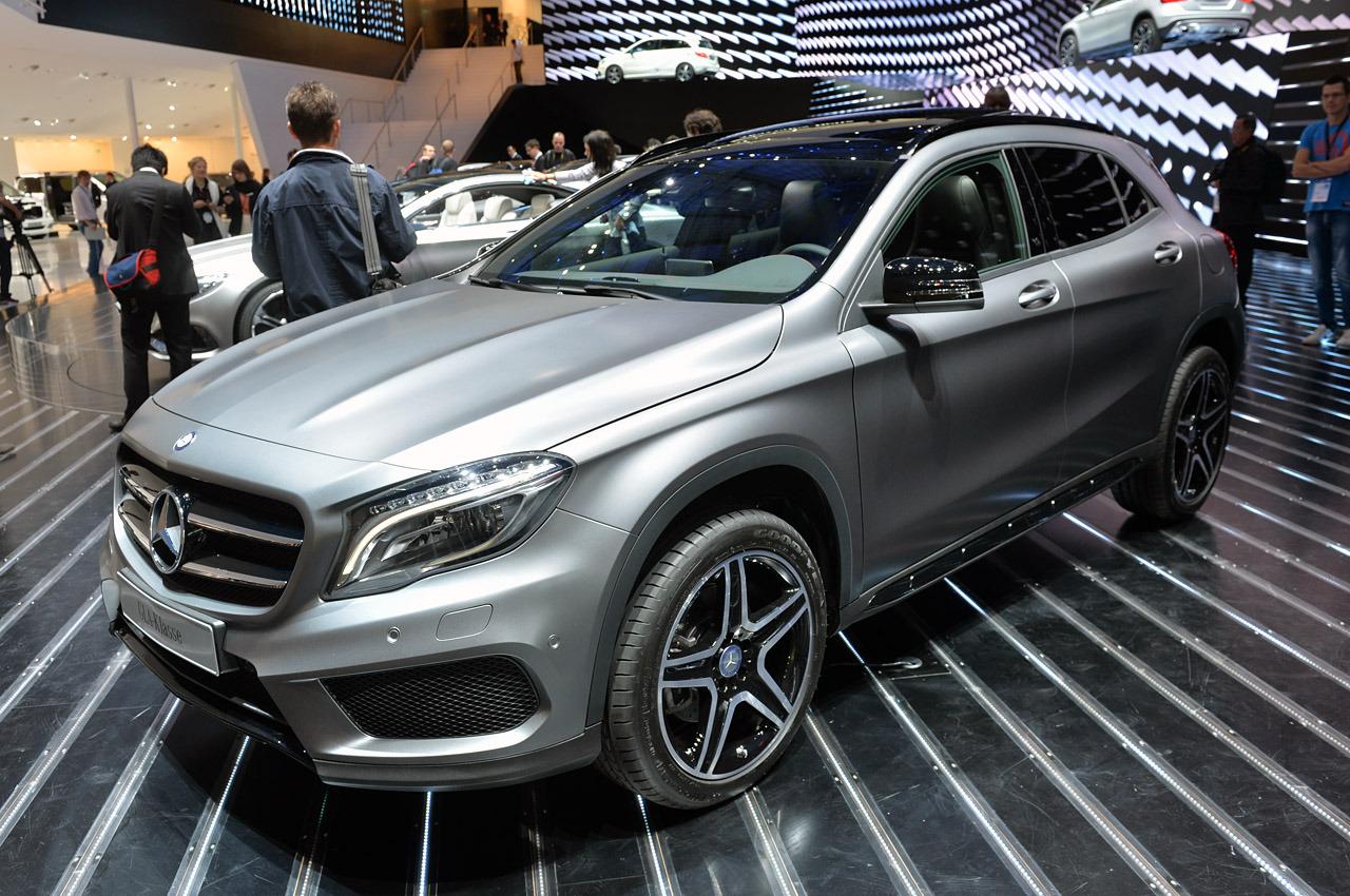 Mercedes-Benz GLA-Serisi Frankfurt'ta tanıtıldı