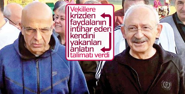 CHP liderinden milletvekillerine: İntiharları anlatın