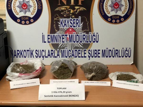 Kayseri'de bonzaiye 4 gözaltı