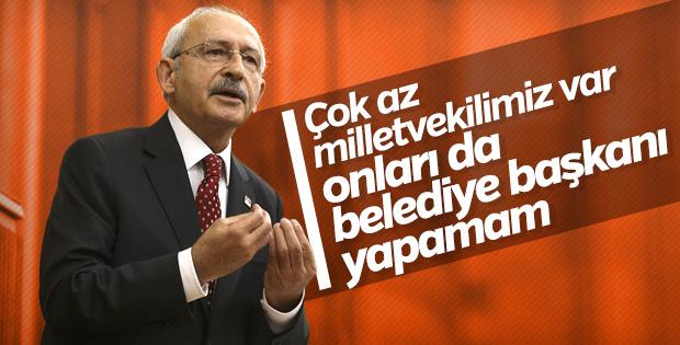 CHP'de milletvekillerinin adaylığına sıcak bakılmıyor