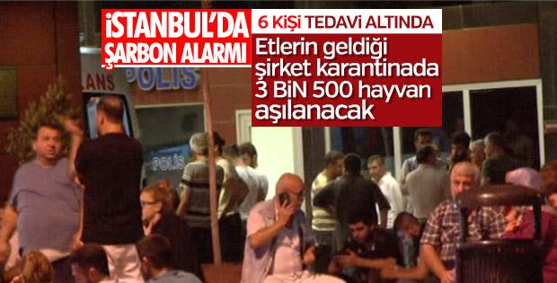 Bakırköy'de şarbon karantinası