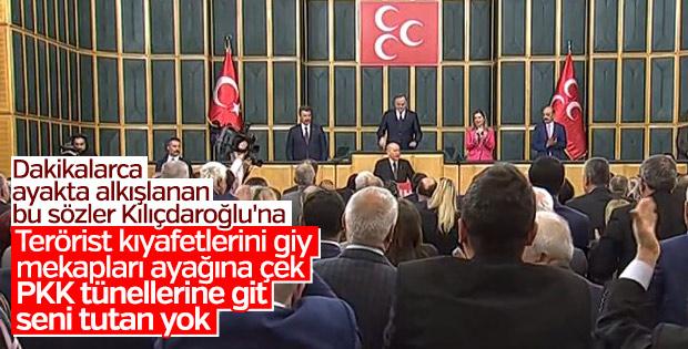 Bahçeli'nin Kılıçdaroğlu'na YPG üniforması giyme önerisi