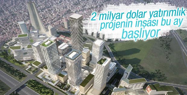 İstanbul Uluslararası Finans Merkezi inşaatı başlıyor