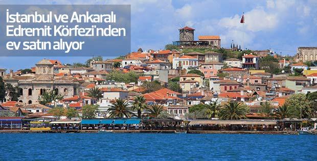 İstanbul ve Ankaralı Edremit Körfezi'nden ev satın alıyor