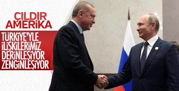 Putin'den Türkiye-Rusya ilişkileri değerlendirmesi