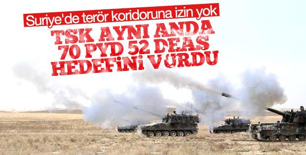 Suriye'de PKK/PYD hedefleri vuruldu