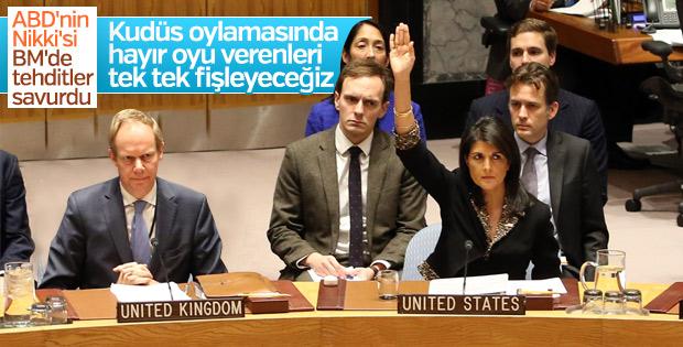 ABD'den BM ülkelerine oylama tehdidi: İsimleri alacağız