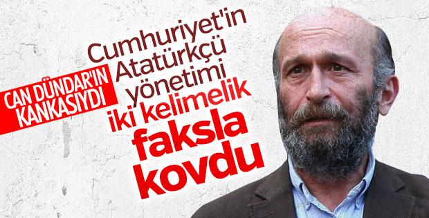 Cumhuriyet'te Erdem Gül'ün görevine son verildi