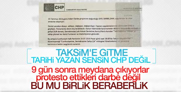 CHP'nin derdi darbe değil hükümet