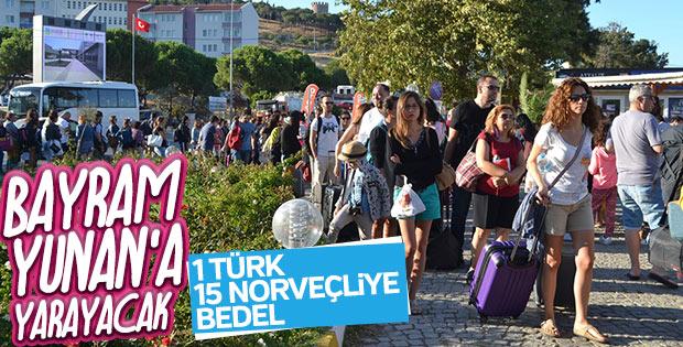 Yunan adalarına Türk akını