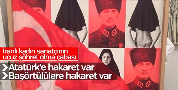 Contemporary İstanbul'da İranlı sanatçının saçmalığı