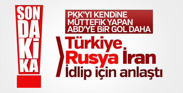 Türkiye, Rusya ve İran İdlib'e gözlemci gönderecek