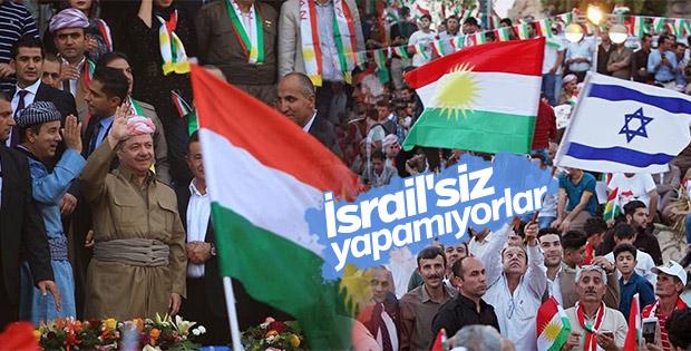 Kuzey Irak'ta yine İsrail bayrakları dalgalanıyor
