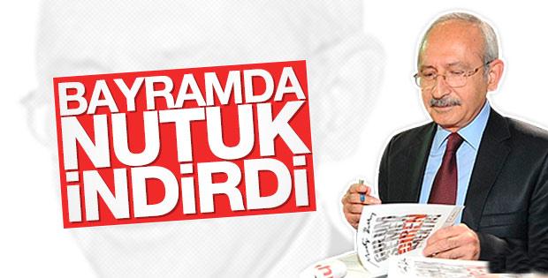 Kılıçdaroğlu bayramda Nutuk'u bir kez daha okudu