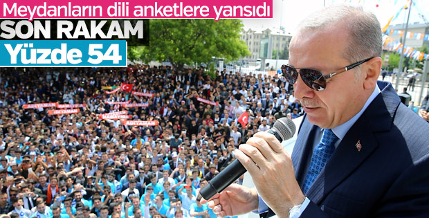 AK Parti'nin yaptırdığı son anket
