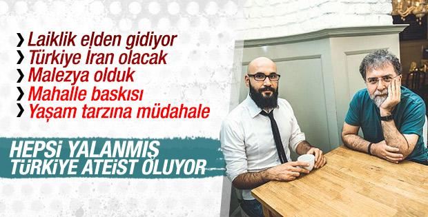 Türkiye muhafazakarlaşmıyor ateist sayısı artıyor