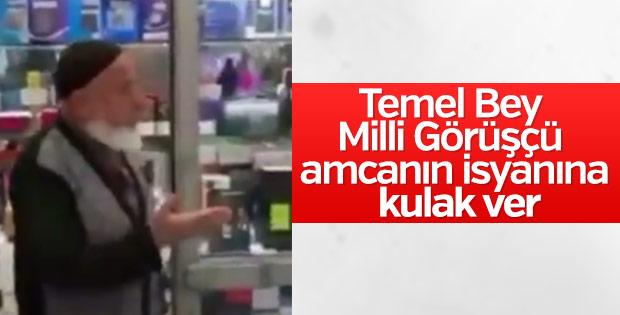 Saadetli amcadan Karamollaoğlu'na: Erbakan'ın kemiklerini sızlattın