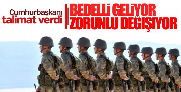 TSK'da yeni askerlik modeli