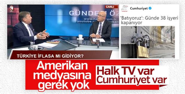 Halk TV'de Türkiye iflasa mı gidiyor kj'si