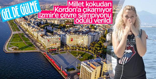 İzmir çevre şampiyonu oldu