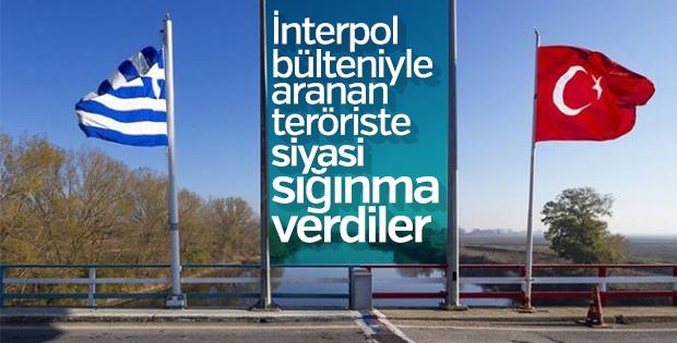Yunanistan'a kaçan teröriste sığınma hakkı verildi