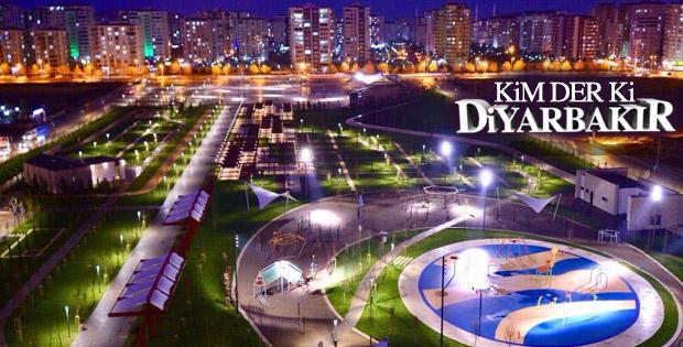 Terörden temizlenen Diyarbakır ışıl ışıl oldu