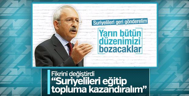 Kılıçdaroğlu'ndan Suriyelilerle ilgili bakış açısı dersi