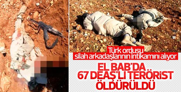 TSK: 67 DEAŞ'lı terörist öldürüldü