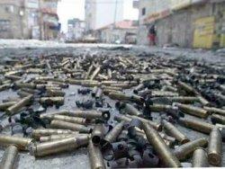 Libya'lı protestocu vurulma anını kaydetti