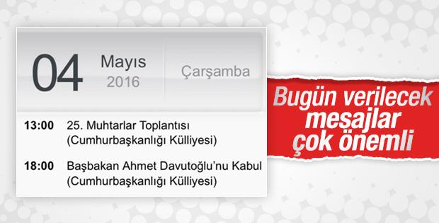 Türkiye bugün Beştepe'den verilecek mesaja kilitlendi
