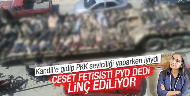 PKK'ya fetişist diyen Amberin Zaman linç ediliyor