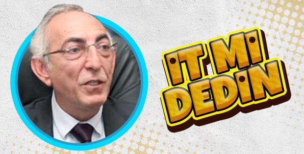 CHP Milletvekili Aldan millete it dedi