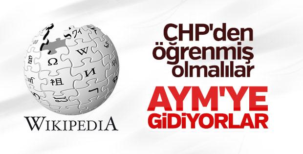 Wikipedia, erişim engeli kararını AYM'ye taşıdı