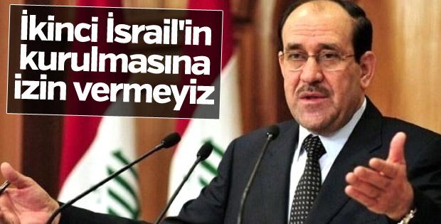 Maliki: İkinci İsrail'in kurulmasına izin vermeyiz