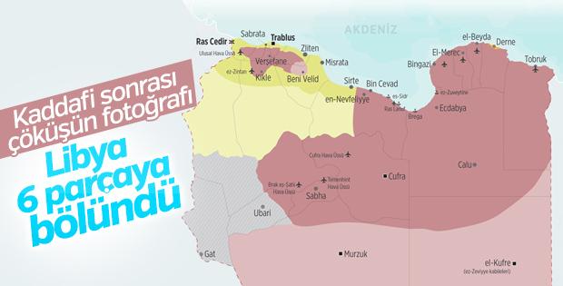 Libya'nın değişen haritası