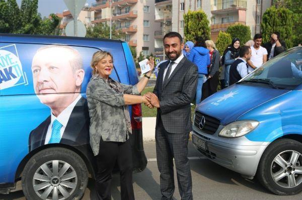 Müşerref Akay bu defa siyaset için Aydın'da