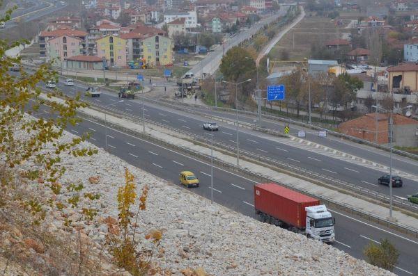 Bozüyük'te drone ile trafik denetimi yapıldı