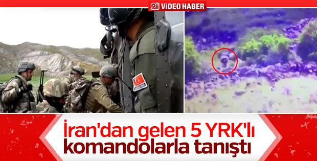 Ağrı'da etkisiz hale getirilen 5 terörist görüntülendi